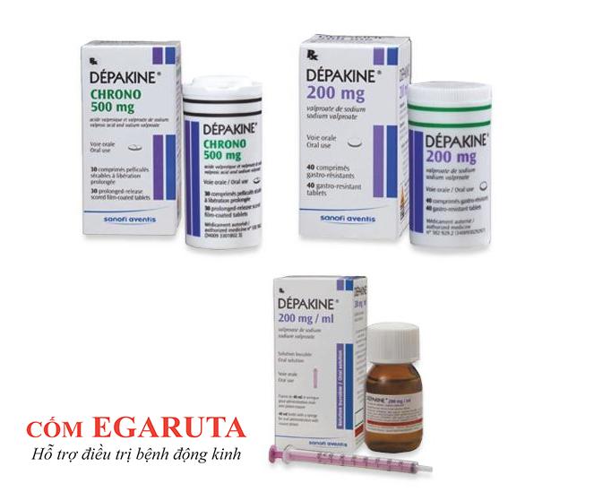 Depakine - thuốc kháng động kinh thông dụng nhất